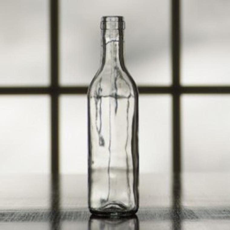 375 ml Clear Semi-Burgundy split bottle