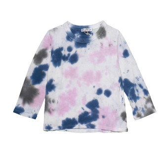 NPG TIE DYE LONG SLEEVE CREW TEE