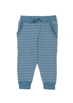 BLUE STONE MULTI STRIPES  POCKET JOGGER PANTS