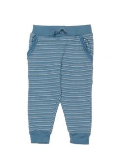BLUE STONE MULTI STRIPES  POCKET JOGGER PANTS