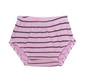 P PINK NAVY STRIPES DIAPER COVER