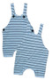 SUN SUIT WITH NAVY STRIPES