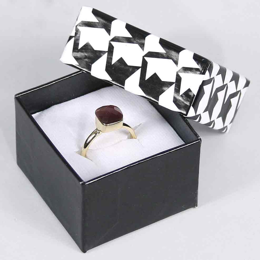 Houndstooth jewelry box, Choose from various Size