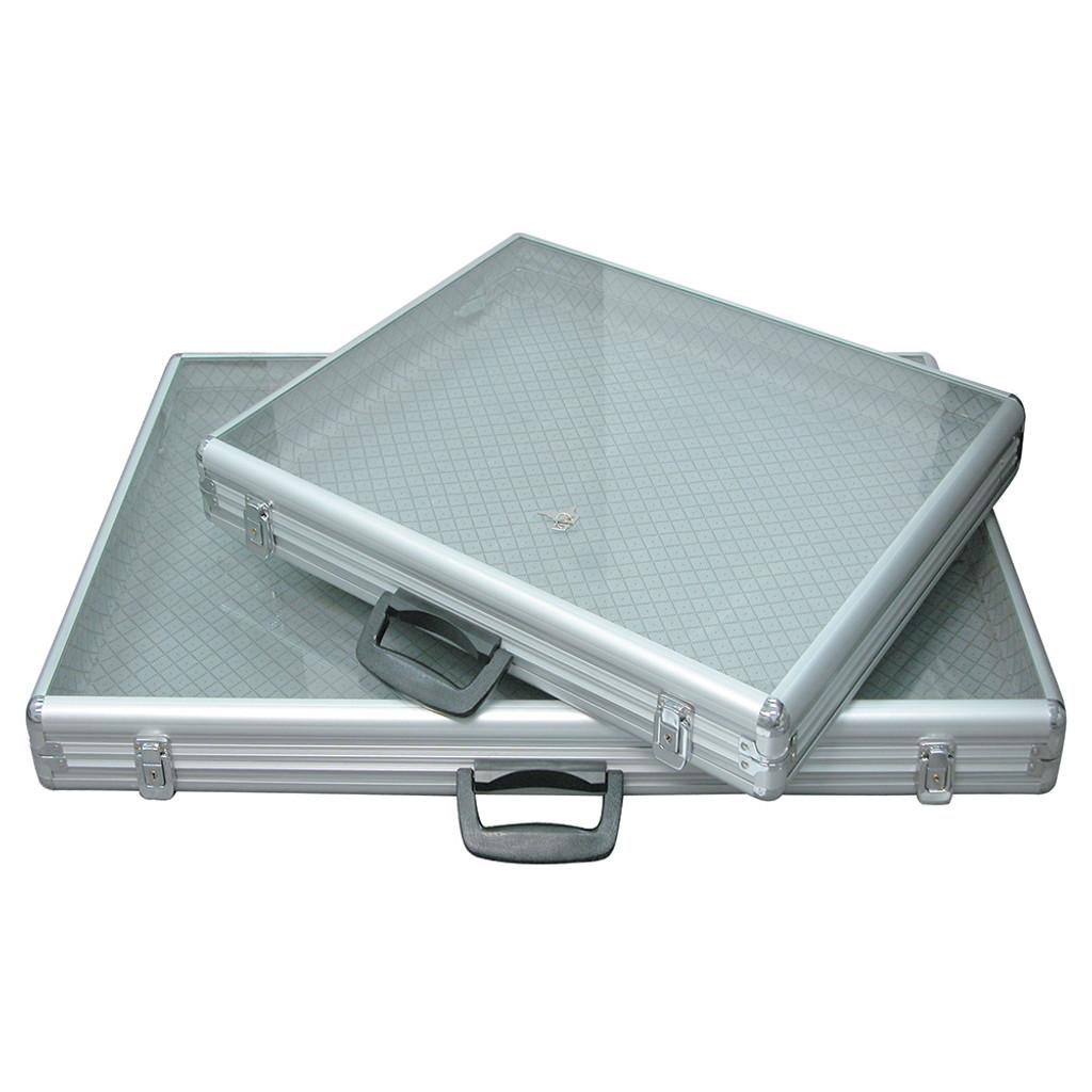 Aluminum Tempered Glass Top Case (AL819 & AL813)