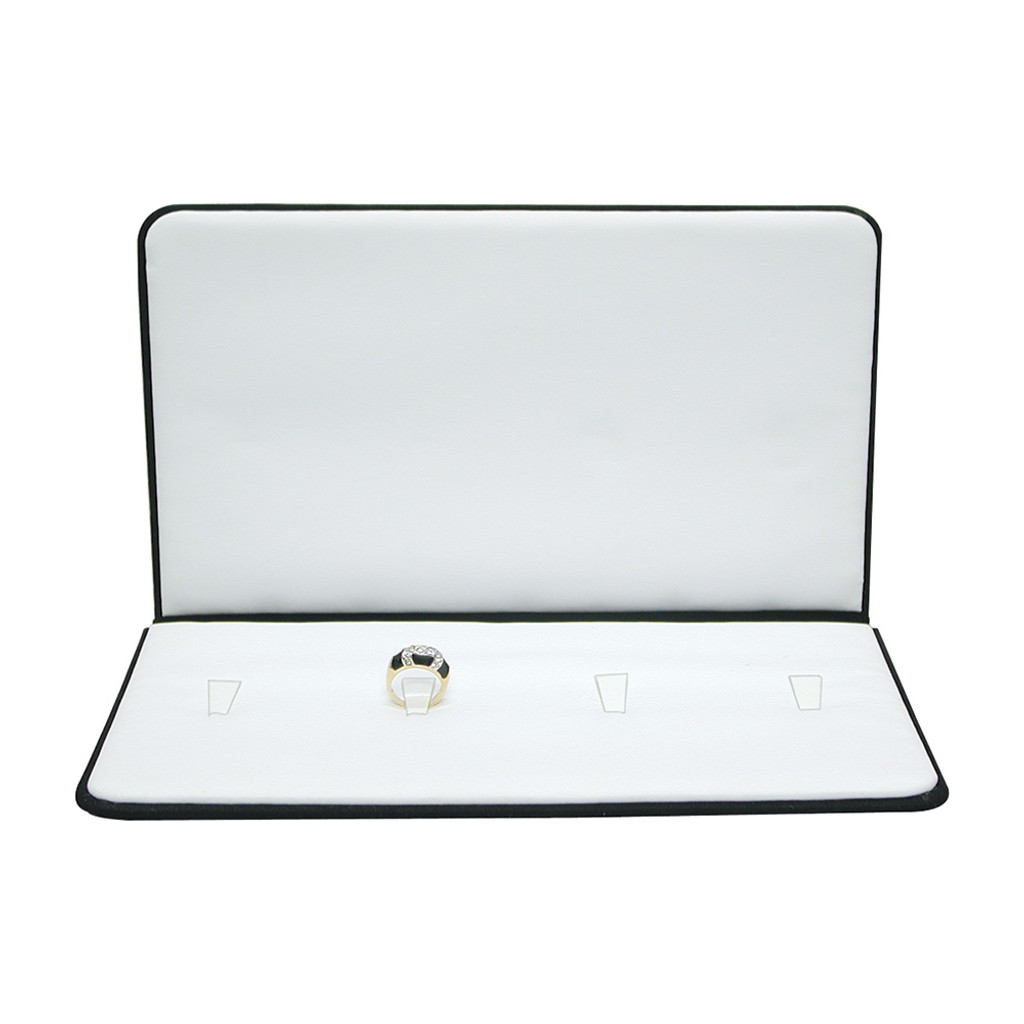 "Presentation Folder with 4-Ring Clips, 5 3/4"" x 9 7/8"",(Choose from various Color)"