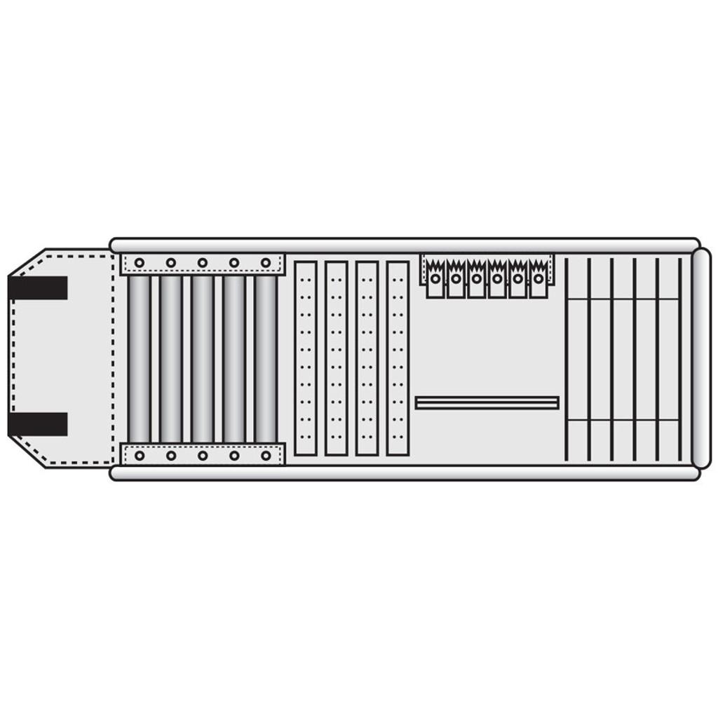 Combination Travel Roll KR711V-BK