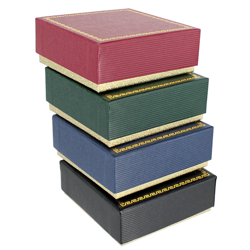 """Universal Gift Box ,2 1/8"""" x 2 1/8"""" x 3/4""""H(Choose from various color)"""