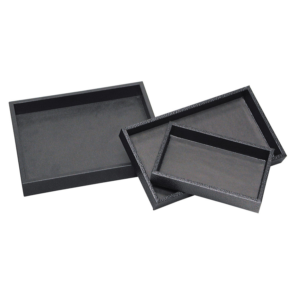 """standard size utility wood tray - Black,14 3/4"""" x 81/4"""" ,(Choose from various sizes)"""