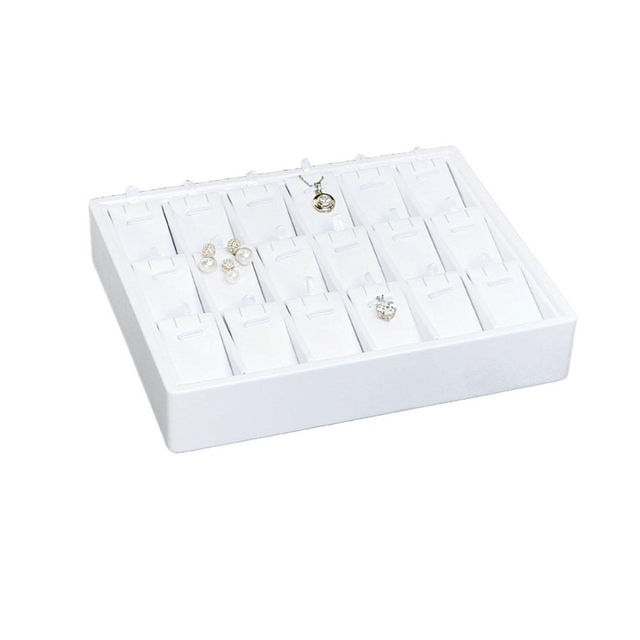 "12 Piece Black Velvet Pendant Earrings Jewelry Gift Boxes 1 7//8/"" x 2 1//8/"""
