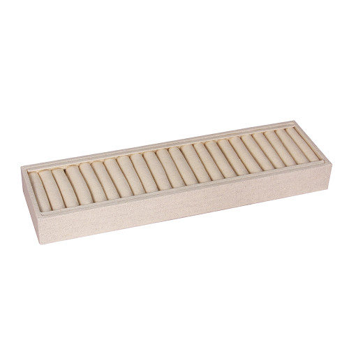 """Bangle Tray 21 Slot, 14 3/4"""" x 4 1/4"""" x 1 1/2"""" , (Choose from various Color)"""