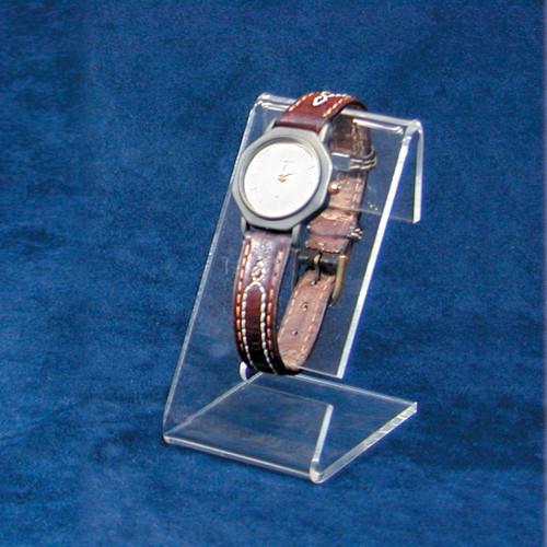 "Clear Acrylic Single Watch Stand, 1 1/2"" x 2"" x 3""H"