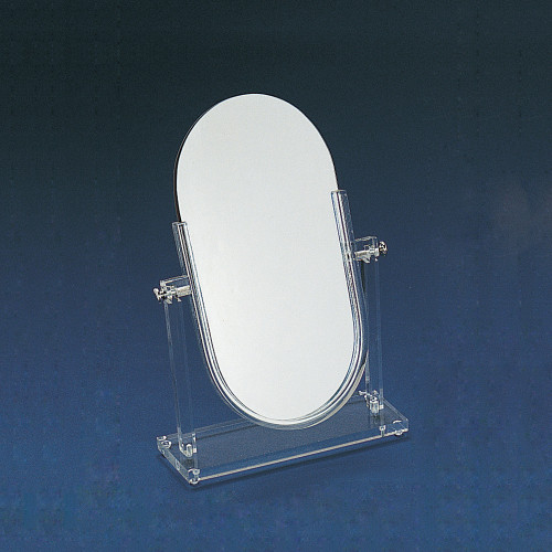 """Double Side Glass Mirror, 14 1/4"""" x 19 1/2""""H"""