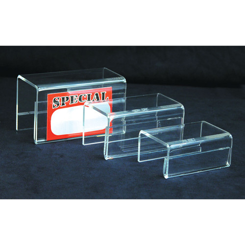 Clear Acrylic Riser, 3Pcs/set