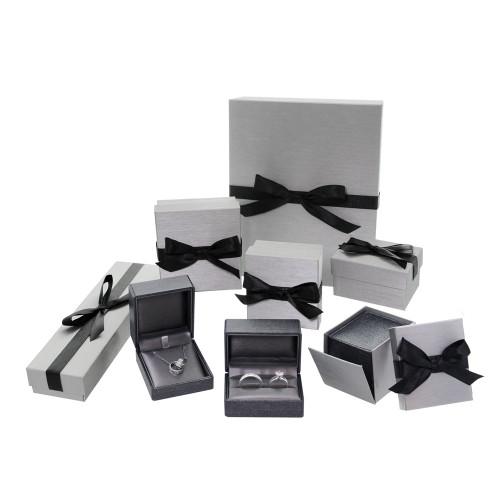 "Premium Ribbon Pendant-grey 2 1/2"" x 2 3/4"" x 1 3/8"""