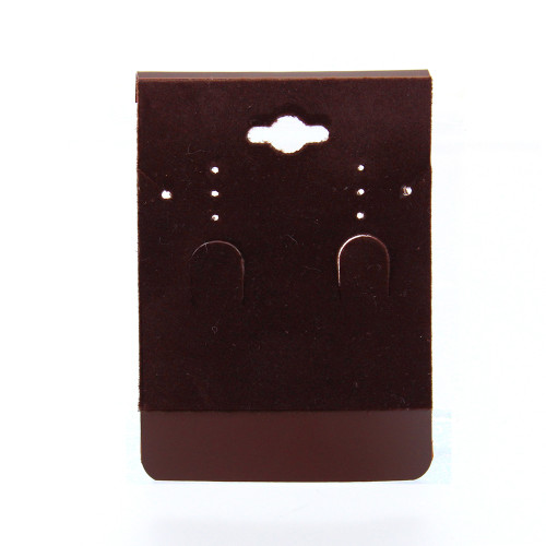 "Hanging Combination Card - Wine Brown, 2 3/8"" X 3 3/8"" ,Price for 100 pcs"