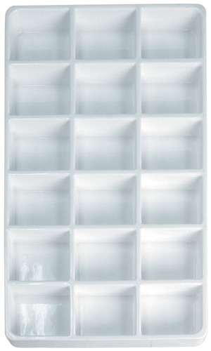 18-Compartment Heavy Duty Lightweight Plastic Stackable Trays (PC18)