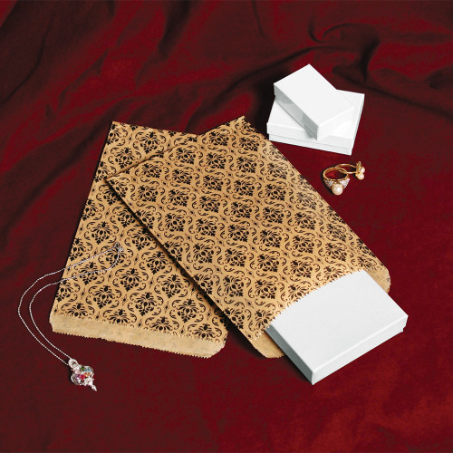 Damask Paper Bags (Choose from various sizes)