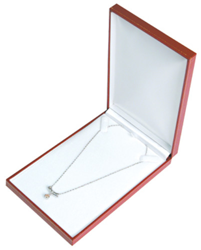 "LV7 Classic Style Necklace Box, 4 3/4"" x 7 3/8"" x 1 1/8"",Choose from various Color"