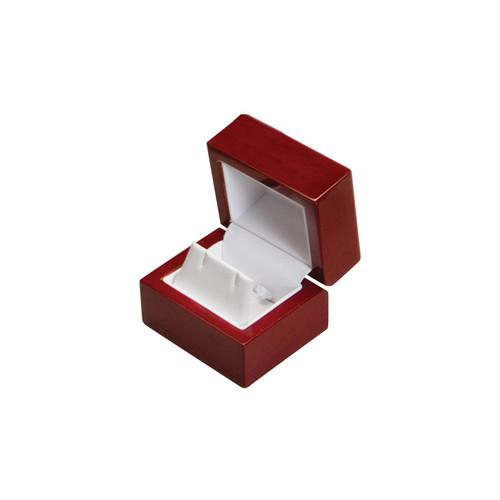 "WE3 Rosewood Earring Box, 2 1/4"" x 2"" x 1 3/4"""