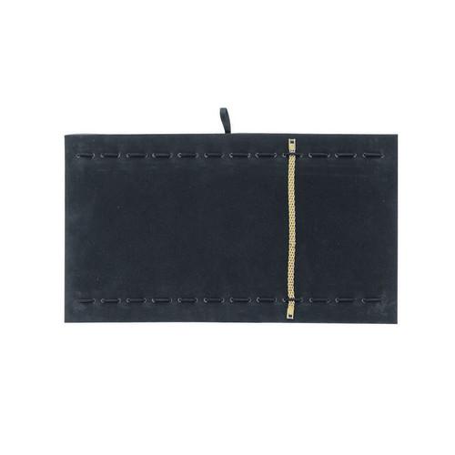 Black Velvet Bracelet Watch Tray Pad
