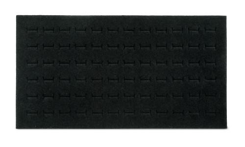Foam 72-Ring Tray Insert Standard Size Black