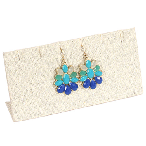 """Earring/Pendant Display , 6x2 3/4""""H,(Choose from various Color)"""