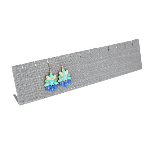 """Extra Long Earring/Pendant stand,linrn,12"""" x 2 5/8""""H, (Choose from various Color)"""