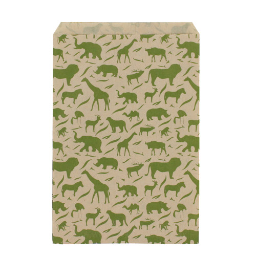 Safari Paper Bag (Choose from various sizes), Price for 100 Pieces.
