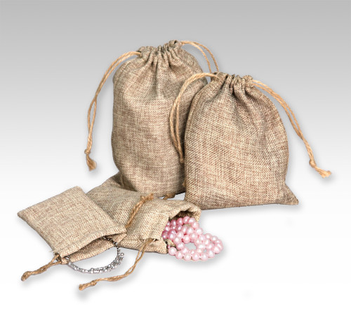 """2 3/4"""" x 3"""",Burlap Pouch , price for Dozen,Buy More Save More"""