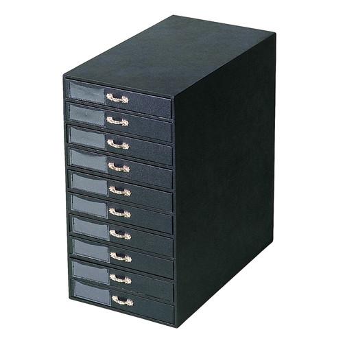 """Jewelry storage organizer ,10 trays, 8 1/2"""" x 14 5/8"""" x 16 1/4""""H"""