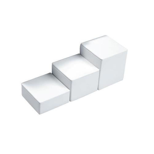 "3-PCS Square Set, 3 1/8"" Sq., 1""H, 1 3/4""H, 2 1/2""H,Choose from various Color"