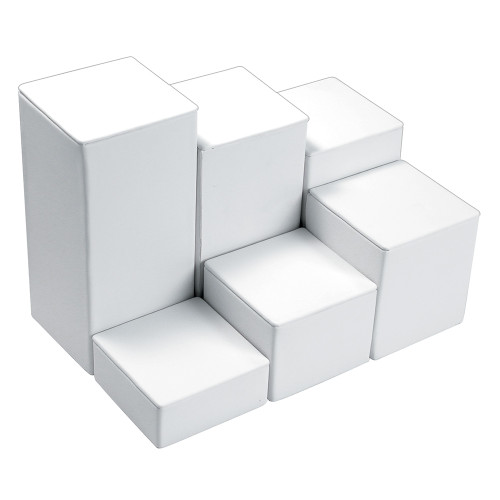 """6-Pieces Square Set, 3 1/8"""" Diag., 1 1/4""""~6 1/4""""H, Choose from various Color"""
