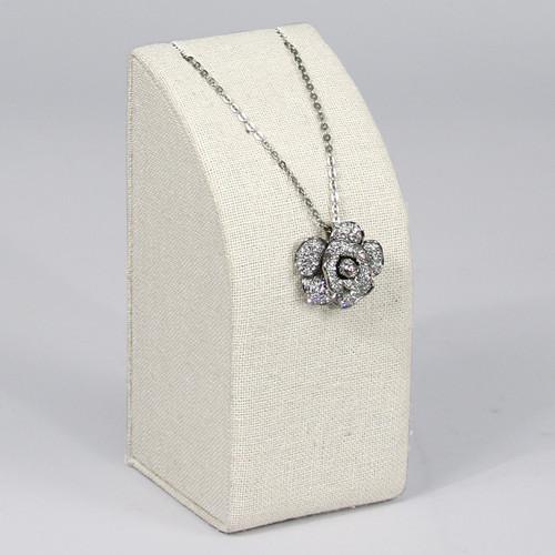 "Linen Necklace Pedestal 2 5/8"" x 2 3/4"" x 5 3/4""H,Choose from various Color"