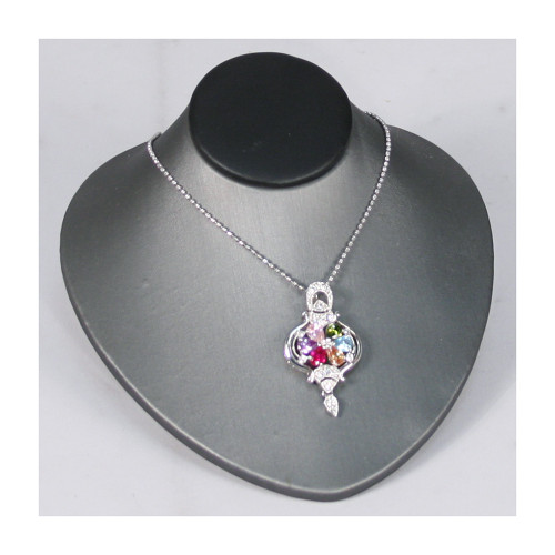 """Necklace Display, 4 3/4"""" x 5"""" x 2 3/4""""""""H, Choose from various color"""