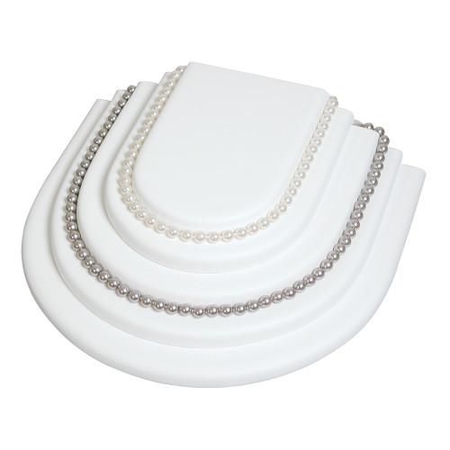 """Necklace Platform, 10 1/4"""" x 9 1/8"""" x 2 3/4""""H,(Choose from various Color)"""