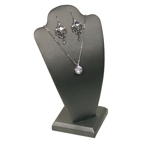 "Necklace Display, 5 1/2"" x 4 7/8"" x 10""H,(Choose from various Color)"