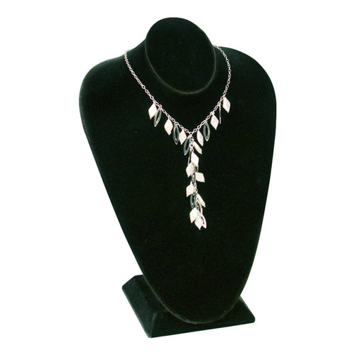 "Necklace Display Bust 4 1/2"" x 7 1/2"" x 11""H,Choose from various Color"