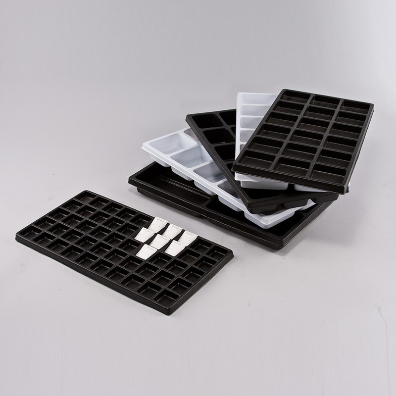 18 Compartment Durable Plastic Tray Liner