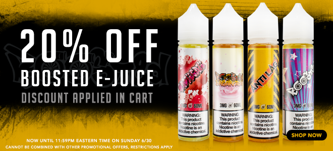 Boosted eJuice Sale