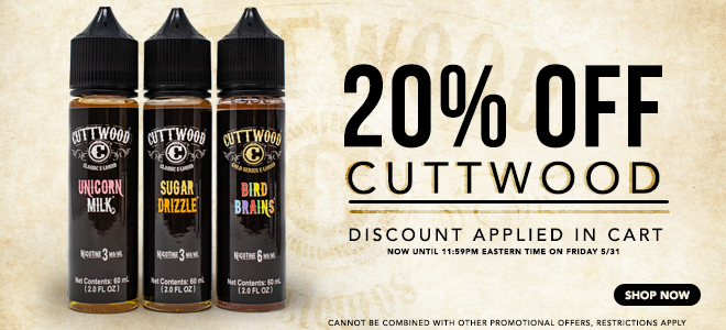 Cuttwood eLiquid Sale