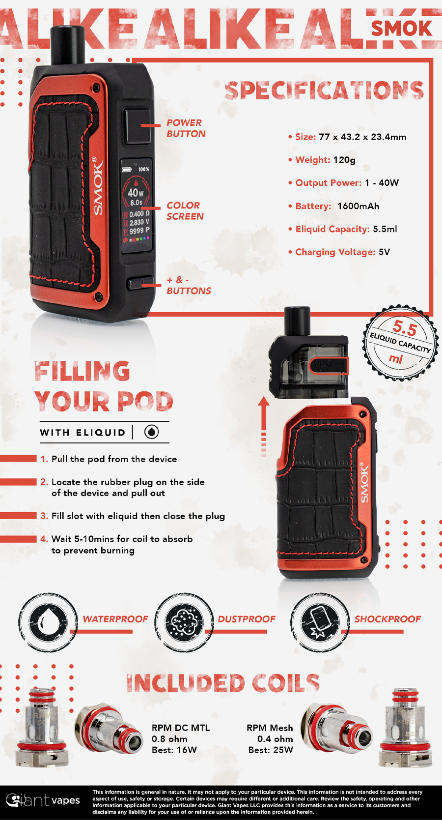 SMOK ALIKE Infographic