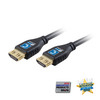 MicroFlex Pro AV/IT Certified 4K60 18G High Speed HDMI Cable with ProGrip Jet Black 9ft