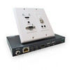 HDBaseT 4K 18G Wall Plate Extender TX/RX Kit with HDMI, USB, VGA and Audio up to 230ft