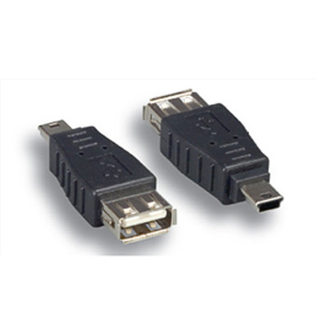 USB A Female To Mini B 4Male Adapter