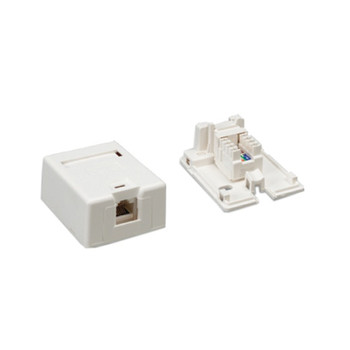 Surface Mount Box Cat 5e Single