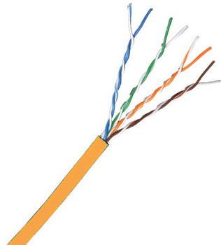 Cat 6 550 MHz UTP Solid Orange Bulk Cable 1000ft