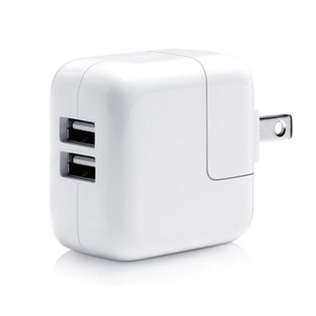 Comprehensive Dual USB Wall Charger 2.1A/12 Watt