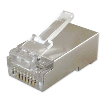 RJ45 Shielded Cat6 Male Connector