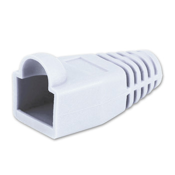 White 8.5mm RJ45 Colored Boot