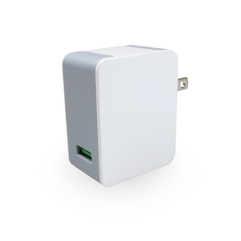 USB Wall Charger with Quick Charge 2.0 technology 18W/5V/2.4A